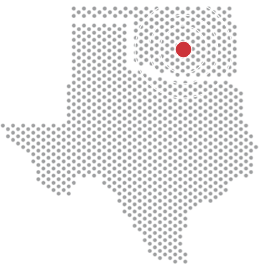 Map showing Caliber headquarters in Oklahoma