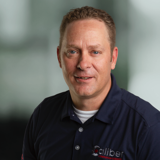 James Willingham, Director of Operations for Caliber, a wireline services company