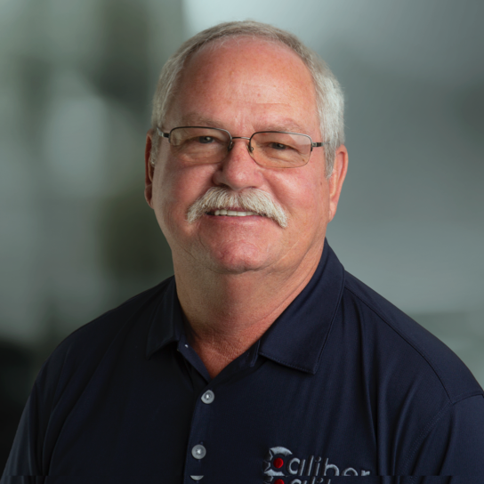 Ken Stevens, Field Sales Director for Caliber, a wireline services company